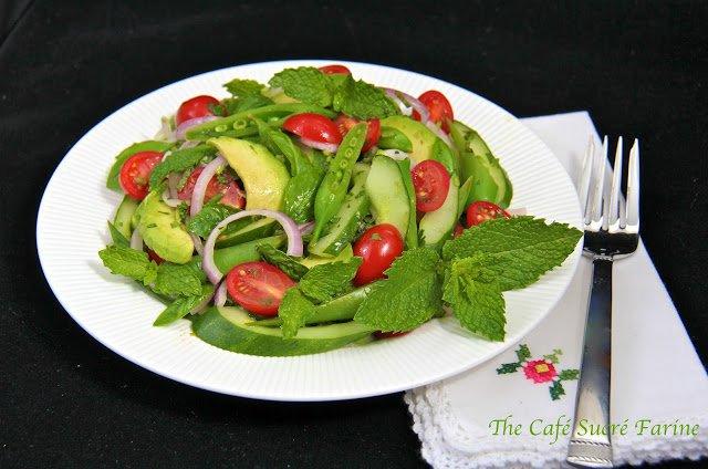 Thai Cucumber & Avocado Salad