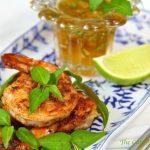 Pan-Seared & Blackened Shrimp w/ Marmalade Dipping Sauce