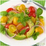 Gaye's Avocado Salad with Tomatoes, Oranges & Vinaigrette Provence