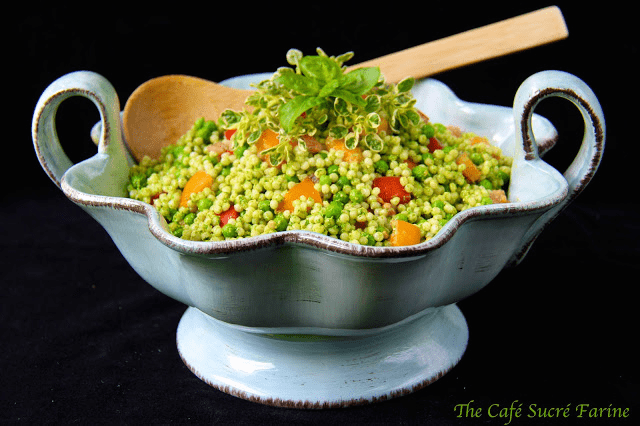 Israeli Couscous and Orzo Salad 1