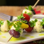 Tomato and Fresh Mozzarella Skewers