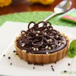 A Guest Post – Peanut Butter Tart w/ Shortbread Crust and Chocolate Ganache Glaze