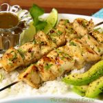 Coconut-Lime Chicken Kabobs