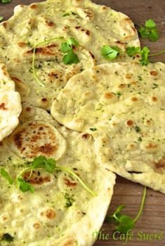 Herbed Naan – From 5 Minute Dough