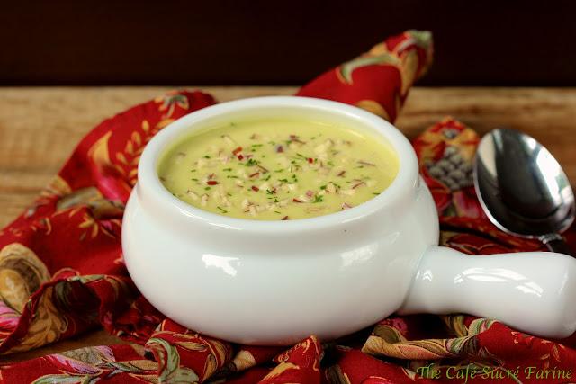 Curried Parsnip and Apple Soup | The Café Sucre Farine