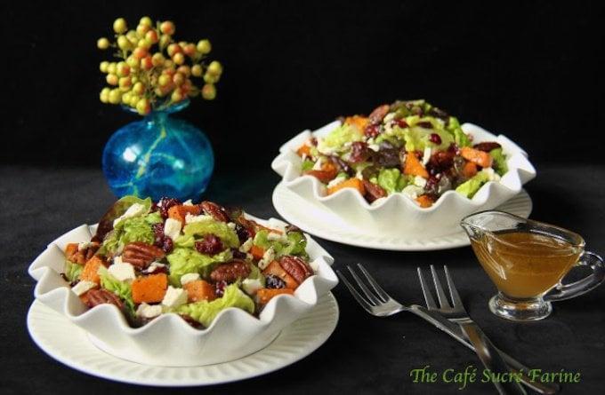 Roasted Sweet Potato Salad with Honey-Cumin Vinaigrette - This salad ...