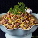 Wheat Berry & Wild Rice Salad W/ Mango, Cranberries & Cashews
