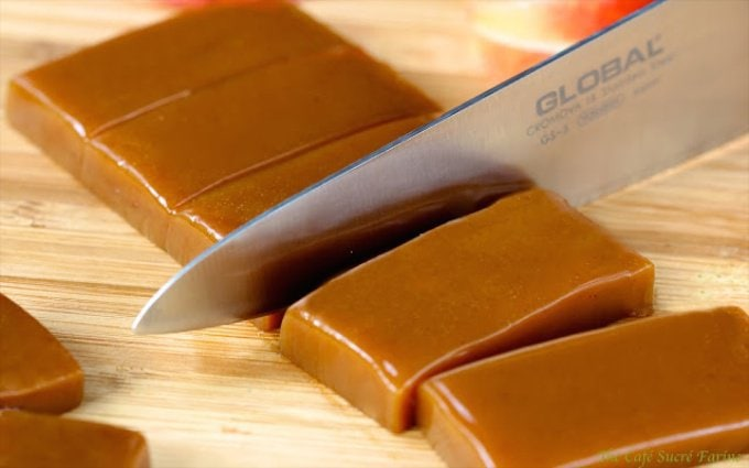 Apple Cider Caramels - These caramels are crazy delicious and are made from real apple cider. Don't expect them to last long!!
