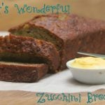 Cait's Wonderful Zucchini Bread