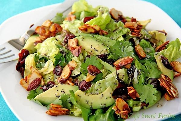 Cranberry Avocado Salad and The Cafe's 2012 Recap