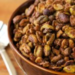 Sweet and Smokey Roasted Pistachios