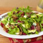 Roasted Pear Salad with Champagne-Honey Vinaigrette