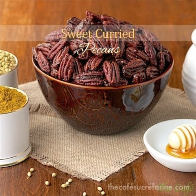 Sweet Curried Pecans - You will find these little gems useful for all kinds of culinary delights from salad toppings to a wonderful savory, spicy snack.
