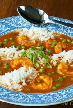 This wonderful Coconut Curry Shrimp is an Asian/Indian-inspired curry entrée, combining the sweetness of coconut with the slight heat of curry - delicious!