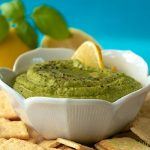 Sweet Pea Hummus with Lemon and Herb