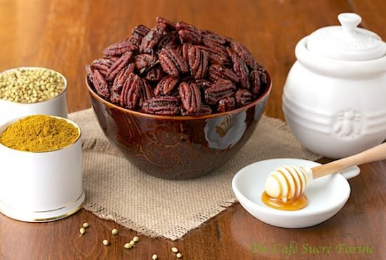 Sweet Curried Pecans