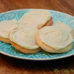 Lemony Sugar Cookies w/ Lemon Cream Cheese Icing