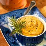 Rosemary-Roasted Carrot, Garlic and White Bean Dip