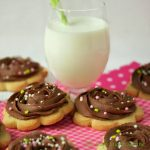 French Shortbread with Chocolate Buttercream