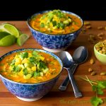 Roasted Red Pepper and Chicken Coconut Curry