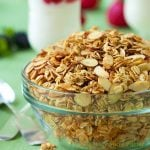 Maple-Vanilla Toasted Oats and Almonds