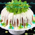 Blackberry-Studded Lemon Pound Cake w/ Lemony Drizzle