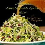 California Avocado and Shaved Brussels Sprout Salad