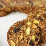 California Fig and Pistachio Crisps