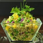 Quinoa Salad with Mango and Fresh Herb Gremolata