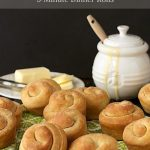Buttermilk Honey 5 Minute Dinner Rolls