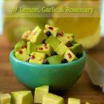 Pickled California Avocados w/ Lemon, Garlic & Rosemary