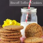 Crinkly Crackly Biscoff Toffee Cookies