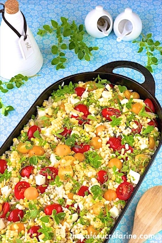 Israeli Couscous Salad&* 2