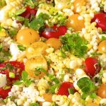 Israeli Couscous and Orzo Pasta Salad