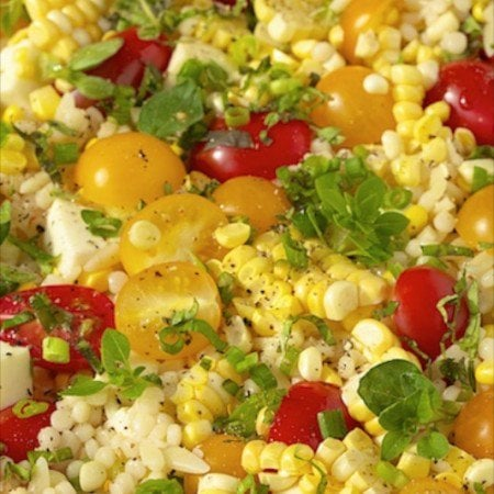 Israeli Couscous and Orzo Salad - The most delicious pasta salad ever ...