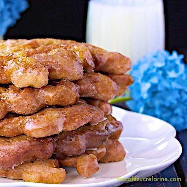 These Pineapple and Banana Fritters are melt-in-your-mouth Southern-style delicious. They get gobbled up like hot cakes, and my family begs for more!
