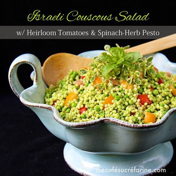 Israeli Couscous With Pesto And Spring Vegetables Recipe ...