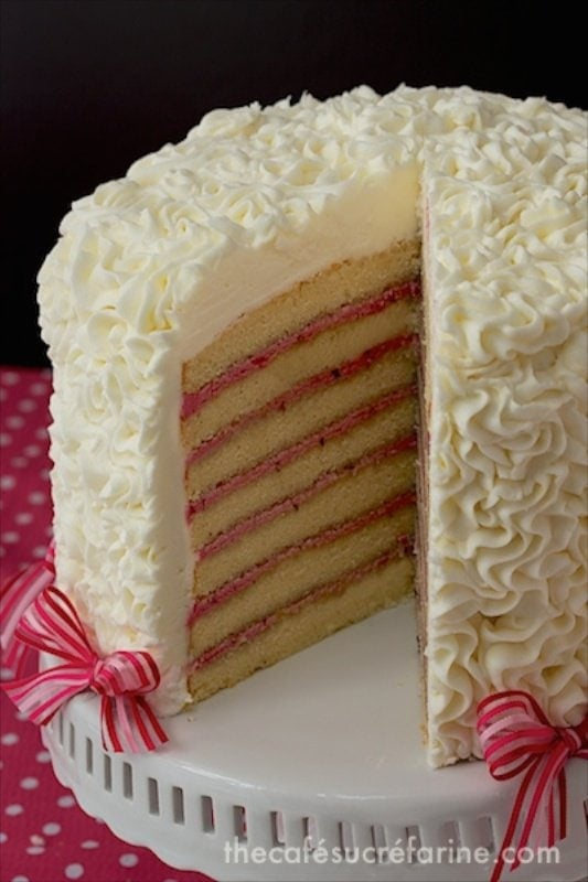 Lemon Layer Cake With Campari Frosting Recipes — Dishmaps