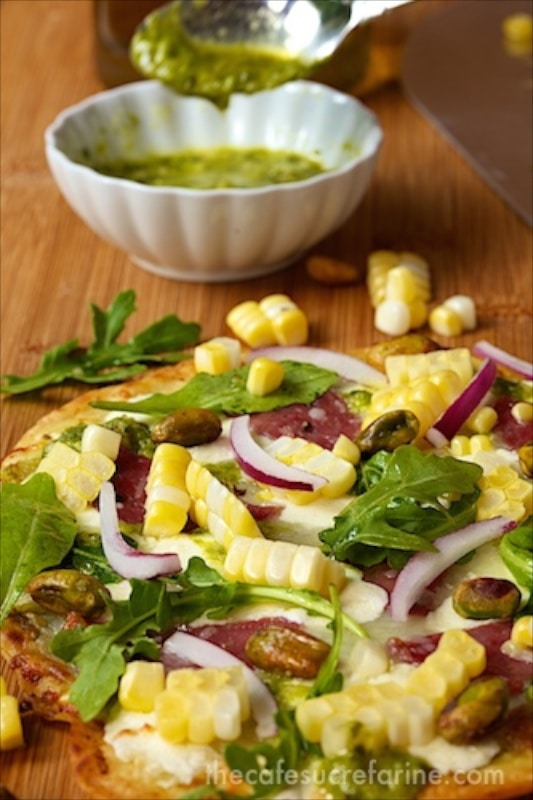 Easy Artisan Pizza - An amazingly simple, easy recipe for shatteringly crisp, delicious pizza.
