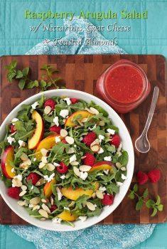 Raspberry Arugula Salad