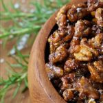 Candied Balsamic Rosemary Walnuts