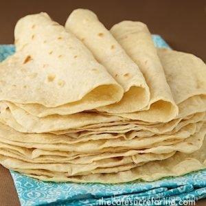 Best Ever Homemade Flour Tortillas