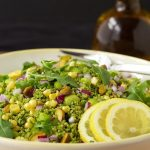 Green on Green Couscous Salad