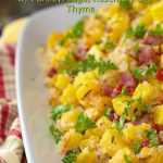 Butternut Squash and Smokey Ham Quinoa