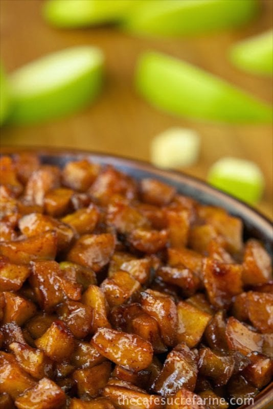Caramelized Apples - Super easy, super delicious! Wonderful as an ice cream, pancake or waffle topping, along side roasted pork, with Greek yogurt ......