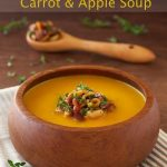 Coconut Curry Carrot and Apple Soup