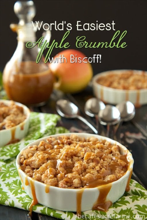 World's Easiest Apple Crumble - so easy and so... delicious!
