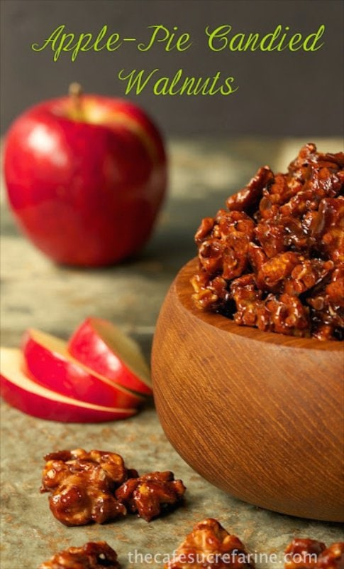 Apple Pie Candied Walnuts - A true taste of fall; fantastic as a stand ...
