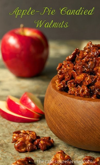 Apple Pie Candied Walnuts | The Café Sucre Farine
