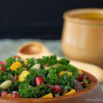 Massaged Kale and Butternut Squash Salad